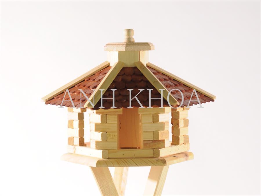 Vogelhaus aus holz garten holz dekoration for Holz dekoration garten