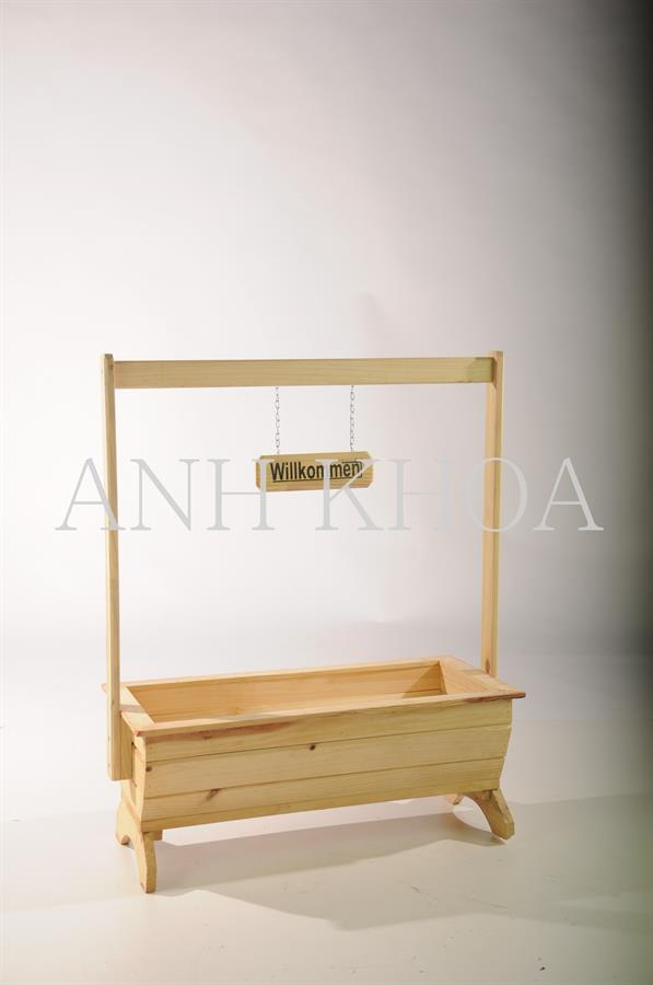 blumenk sten aus holz garten holz dekoration. Black Bedroom Furniture Sets. Home Design Ideas