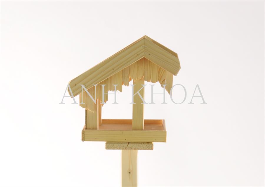 Vogelhaus aus holz garten holz dekoration for Holz dekoration