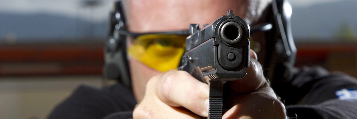 Pistolová krytá střelnice