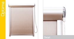 Textilní rolety - Optima