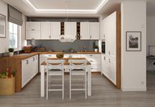 Kuchyňská linka Stella - bílý mat ( volitelná sestava )