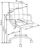 Dětská židle Gonza - růžová