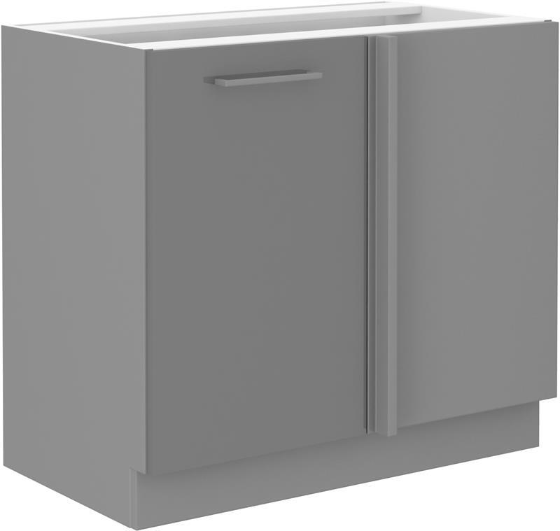 Dolní rohová skříňka Gary 37 (105 cm) - bez pracovní desky
