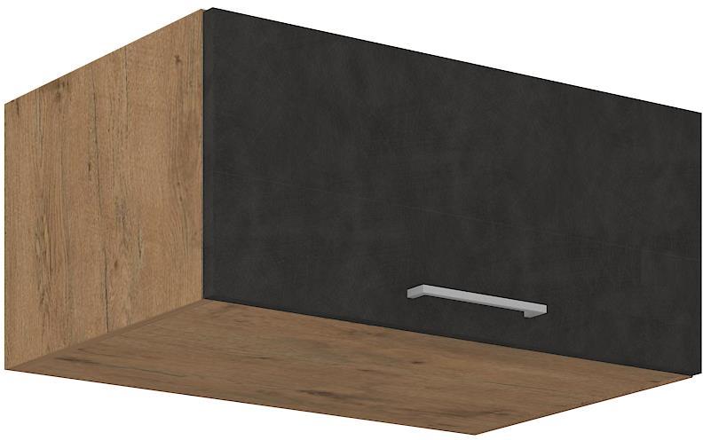 Horní skříňka Viktorie grafit mat 15 (80 cm)