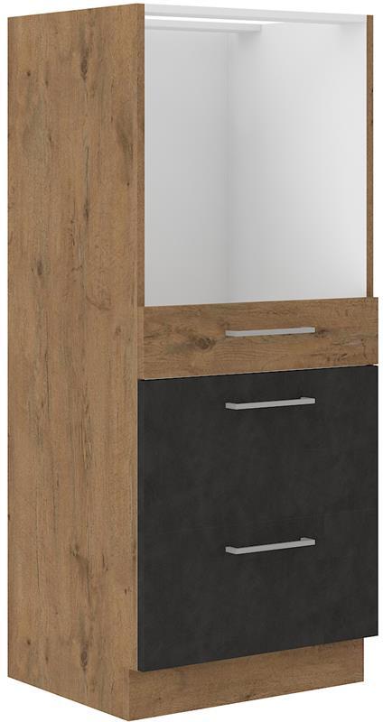 Skříňka Viktorie grafit mat 43 (60 cm) bez pracovní desky