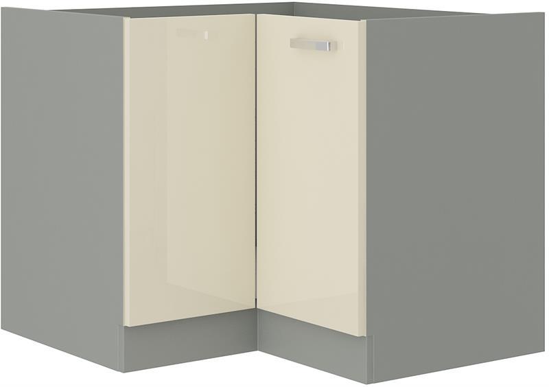 Dolní rohová skříňka Carmen 9 bez pracovní desky (89/89 cm)