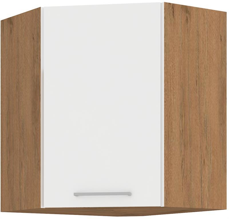 Horní rohová skříňka Viktorie 24 (58x58 cm)