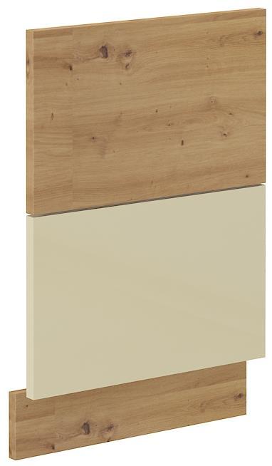 Dvířka na myčku Arisa 35 (570 x 446 mm) krémový lesk