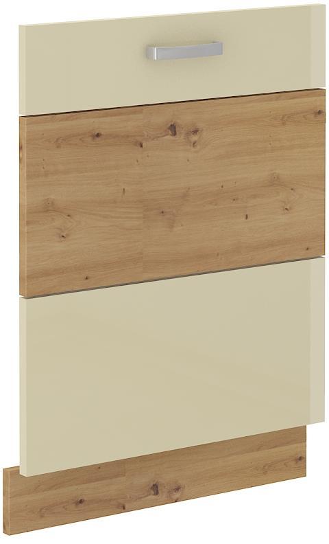 Dvířka na myčku Arisa 32 (713 x 596 mm) krémový lesk