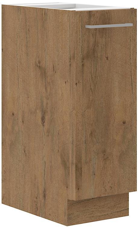 Dolní skříňka Viktorie grafit mat 8 (30 cm) bez pracovní desky