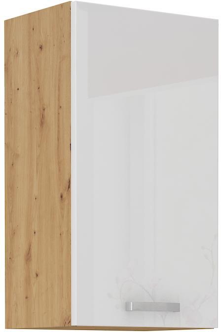 Horní skříňka Arisa 18 (40 / 72 cm) bílý lesk