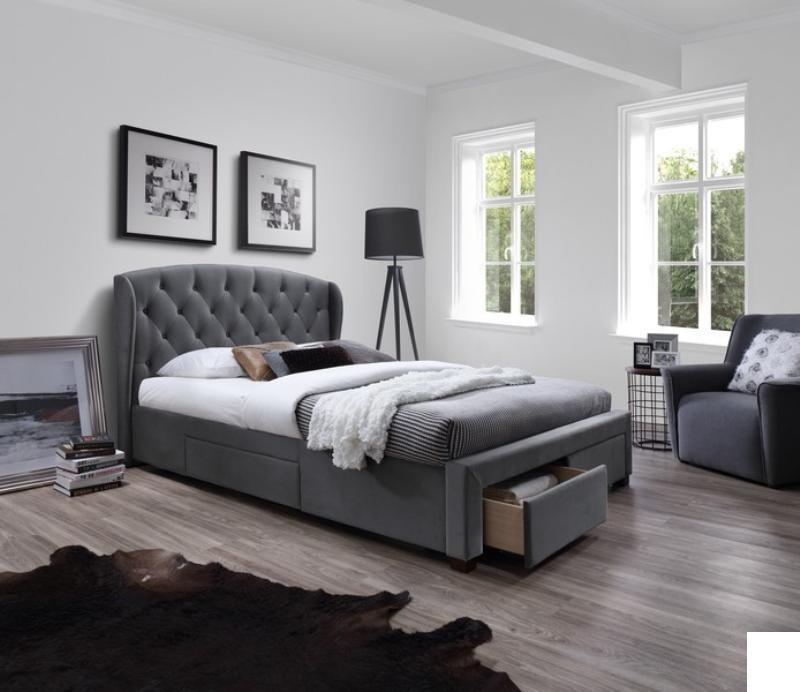 Čalouněná postel Sabrina 160 x 200 cm