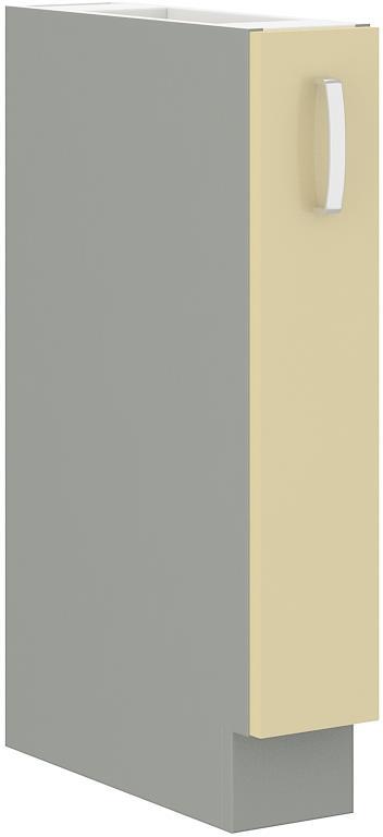 Dolní skříňka Carmen 34 bez pracovní desky (15 cm) výsuvná
