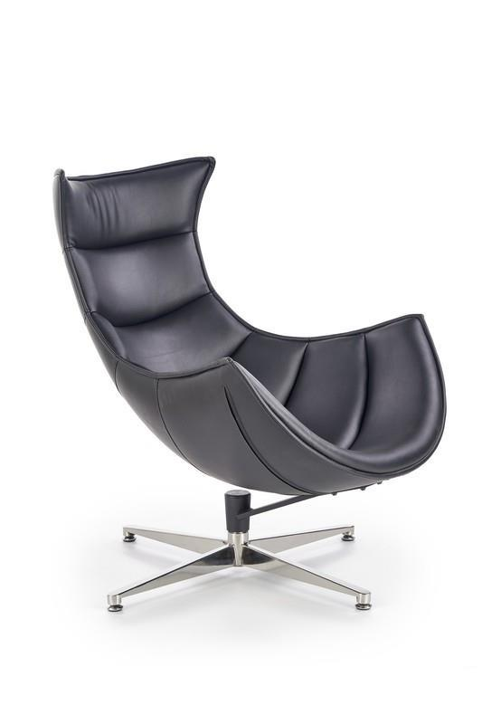 Odpočinkové křeslo Luxa - černé