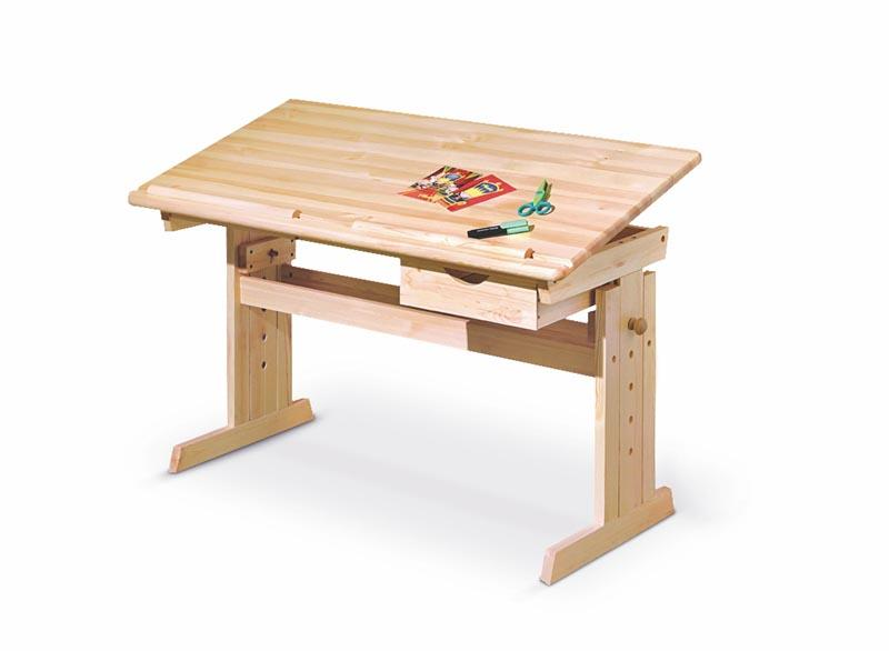 Rostoucí stůl Jana s nastavitelnou výškou a úhlem stolu