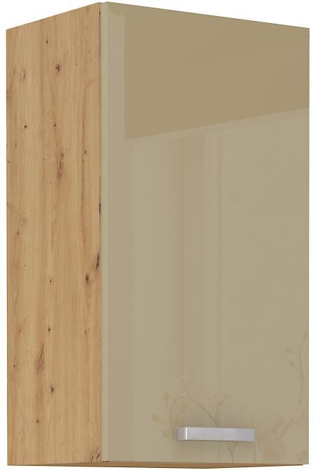 Horní skříňka Arisa 18 (40 / 72 cm) cappucino lesk