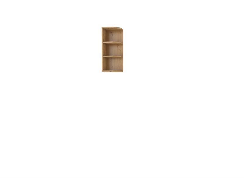 Horní rohová polička Moderna 28 (30 cm)
