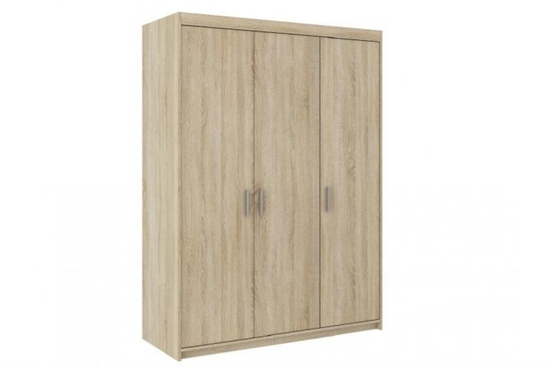Šatní skříň Elis 3D dub sonoma