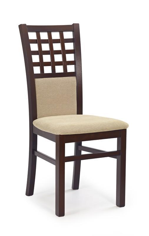 Dřevěná židle Gera 3 - tmavý ořech