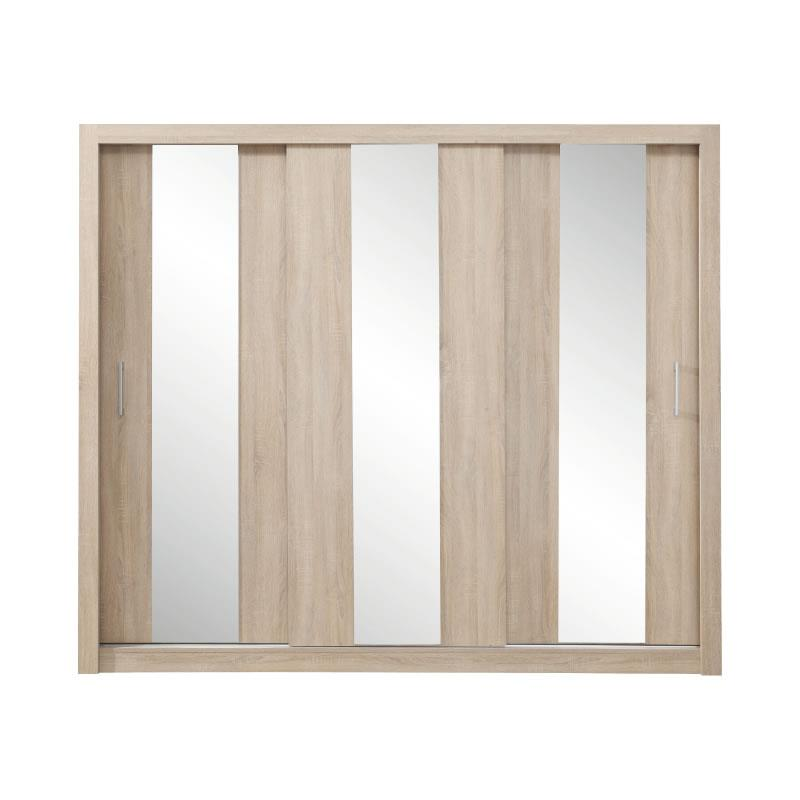 Šatní skříň Dana 1 - 250 / 215 / 60 cm