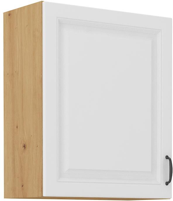 Horní skříňka Stella 13 (60 / 72 cm) bílý mat