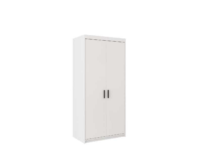 Šatní skříň Elis 2D bílá