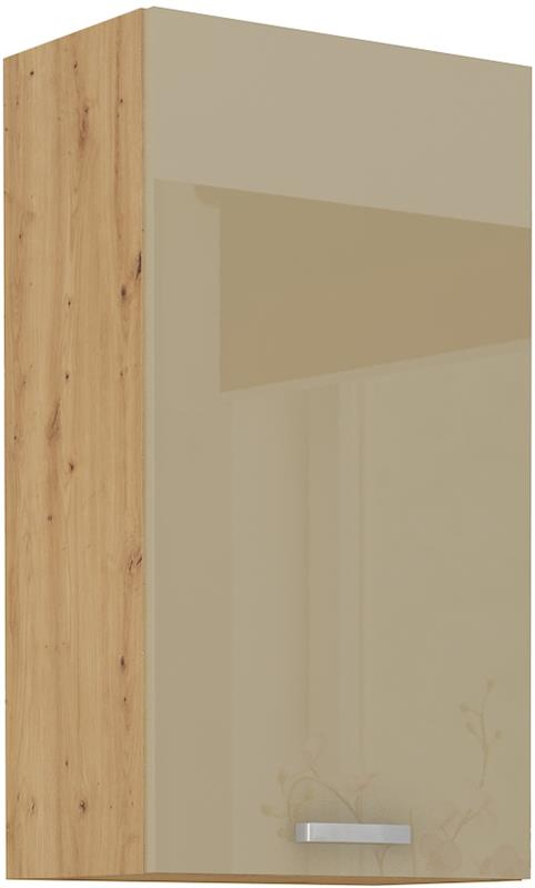 Horní skříňka Arisa 23 (50 / 90 cm) cappucino lesk