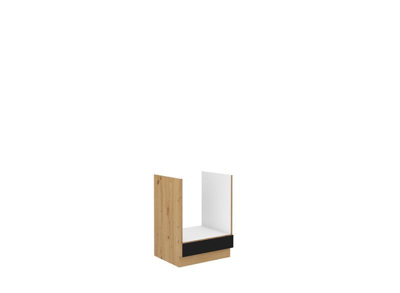 Dolní skříňka pro troubu Moderna 5 (60 cm) černý mat