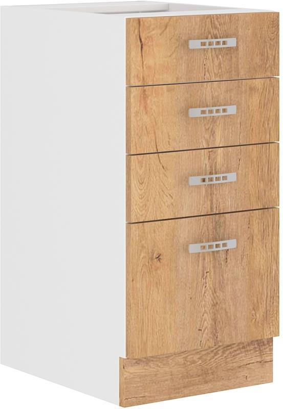 Dolní skříňka Šárka 4 (40 cm) bez pracovní desky