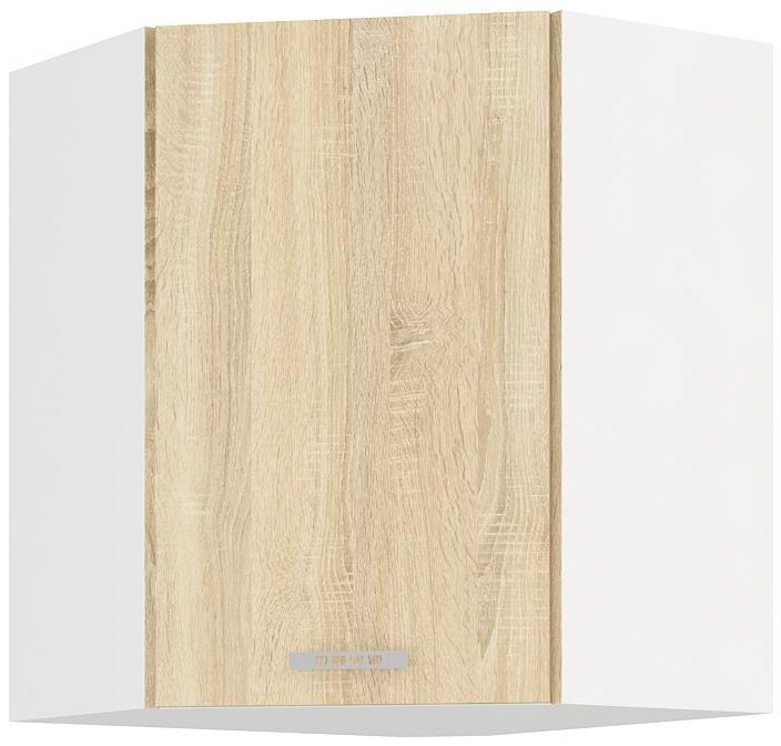 Horní skříňka rohová Klára 16 (58 x 58 cm)