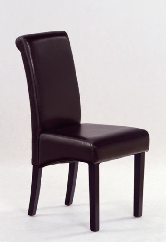 Židle Nero tmavě hnědá