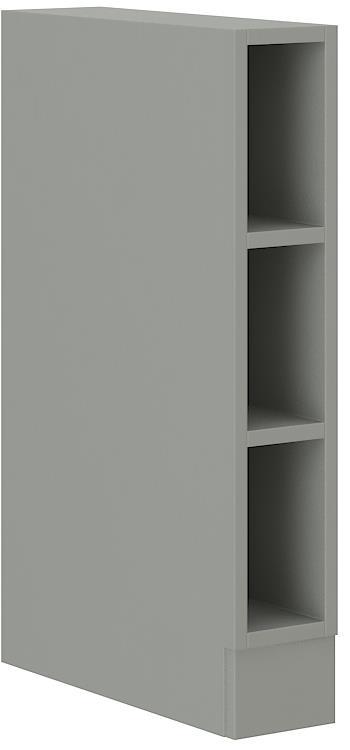 Dolní otevřená skříňka Rose 23 bez pracovní desky (15 cm)