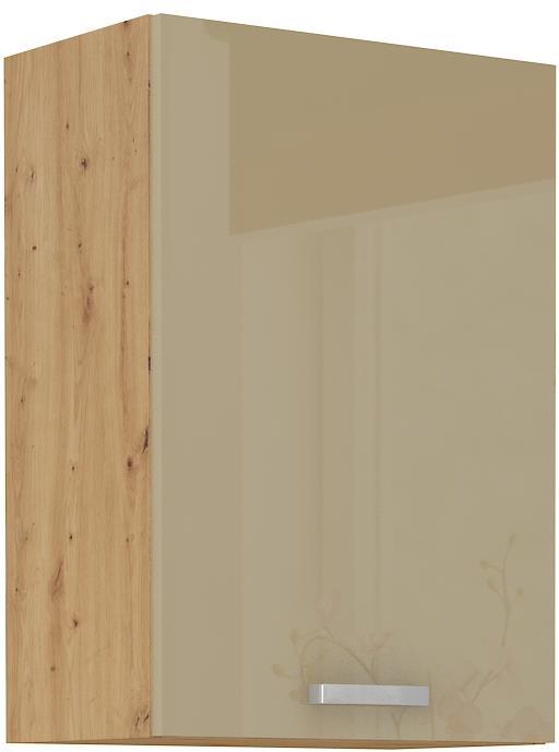 Horní skříňka Arisa 13 (50 / 72 cm) cappucino lesk