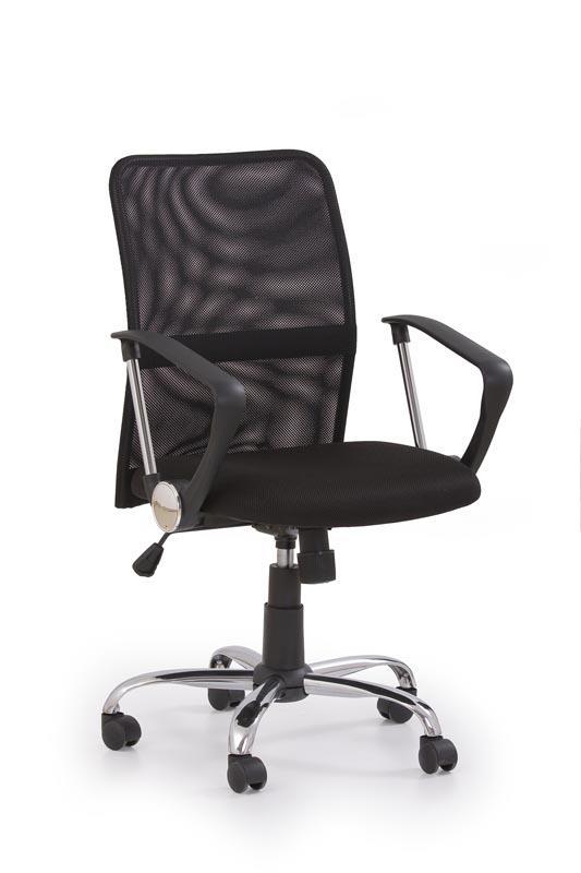 Kancelářská židle Tony - černá