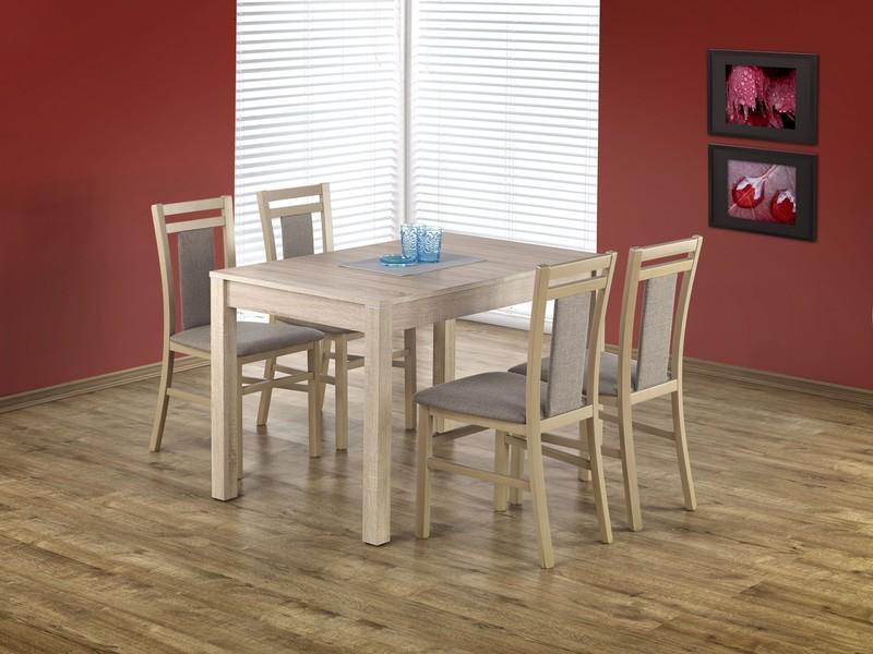 Jídelní set Mary + 4 židle Berta 8 dub sonoma