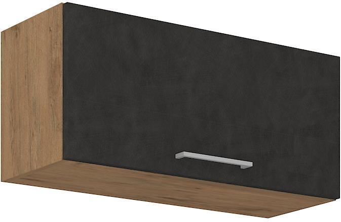 Horní skříňka Viktorie grafit mat 14 (80 cm)
