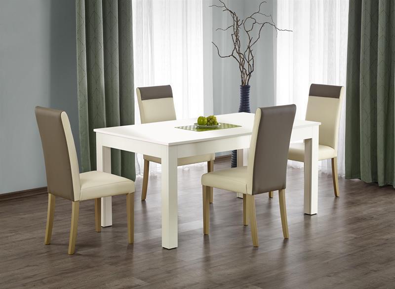 Jídelní set Sewy + 4 židle Nora ( bílý )