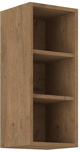 Horní otevřená skříňka Viktorie grafit mat 26 (30 cm)