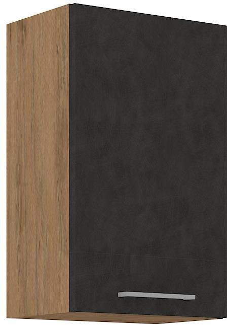 Horní skříňka Viktorie grafit mat 21 (45 cm)