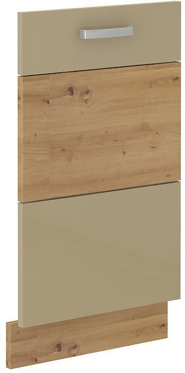 Dvířka na myčku Arisa 34 (713 x 446 mm) cappucino lesk