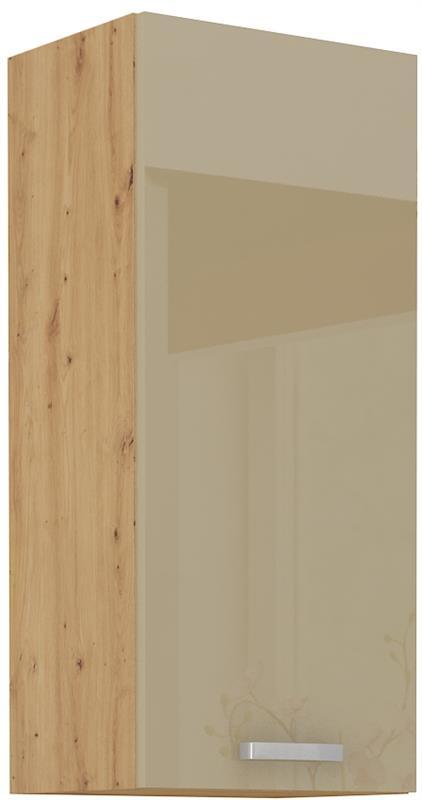 Horní skříňka Arisa 25 (40 / 90 cm) cappucino lesk
