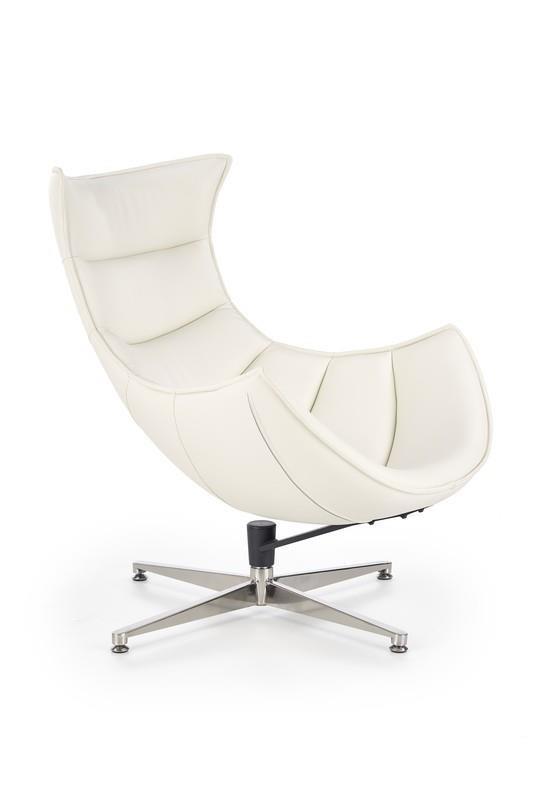 Odpočinkové křeslo Luxa - bílé