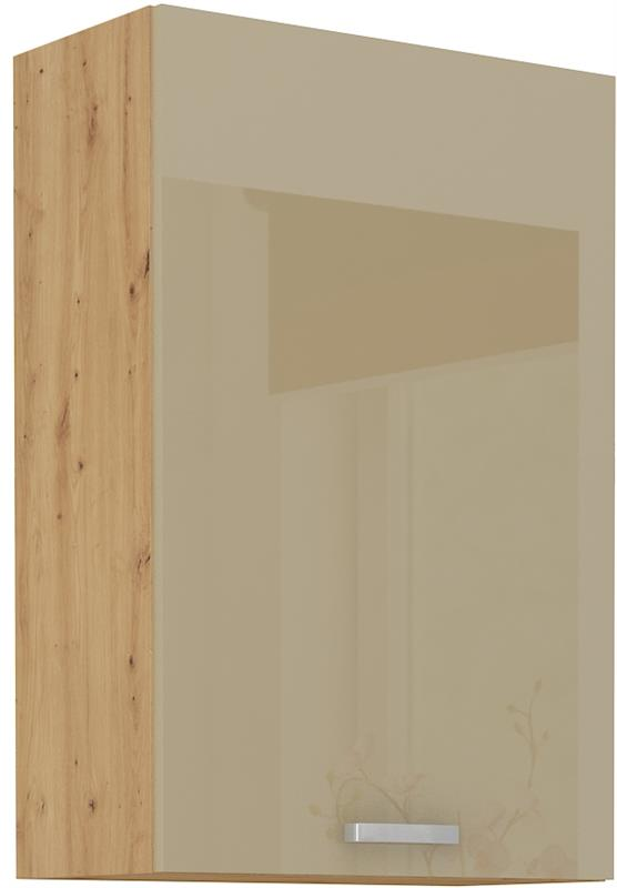 Horní skříňka Arisa 22 (60 / 90 cm) cappucino lesk