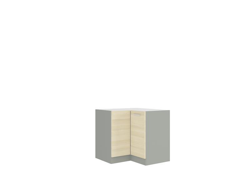 Dolní rohová skříňka Erika 6 bez pracovní desky (89 x 89 cm)