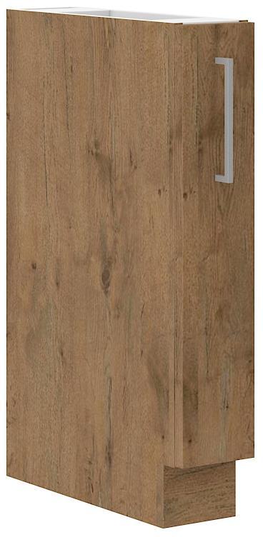 Dolní skříňka Viktorie grafit mat 9 (15 cm) bez pracovní desky