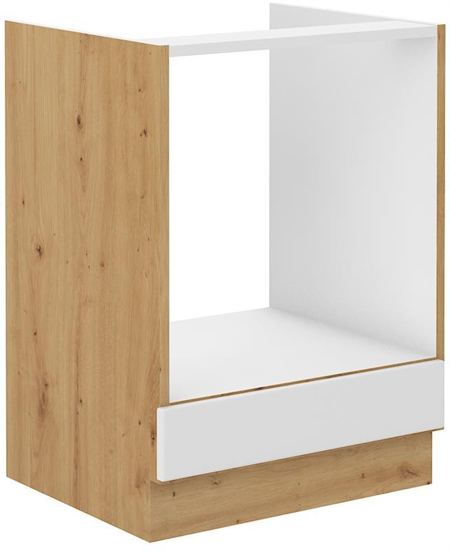 Dolní skříňka pro troubu Stella 8 (60 cm) bílý mat
