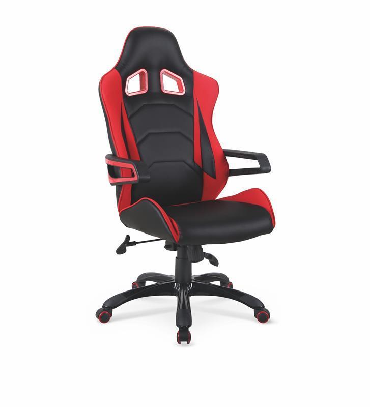 Kancelářská židle Dorado - černo-červená