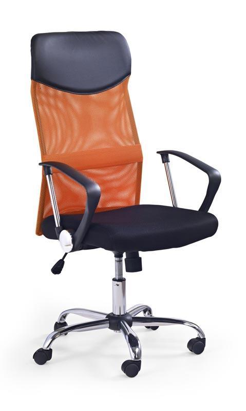 Kancelářská židle Vire - oranžová