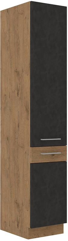 Potravinová skříň Viktorie grafit mat 38 (40 cm)